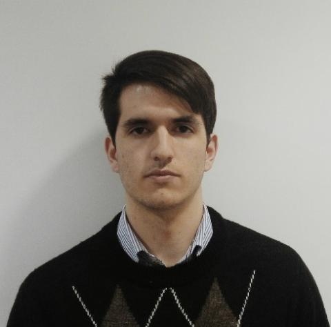 Ignacio Rodríguez Montesinos, estudiante de ingeniería de servicios en la Universidad Rey Juan Carlos
