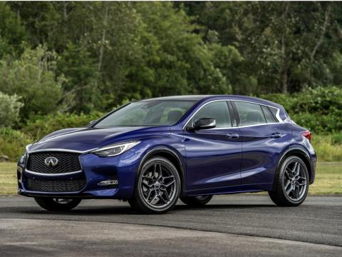 In the Infiniti line up, the QX50 slots in above the Mercedes GLA-derived QX30 crossover and...
