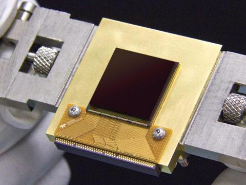The infrared camera sensor for the proposed NEOCam asteroid-hunting mission.