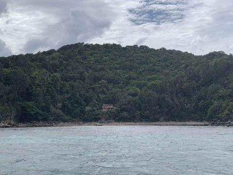 Isla en El Nido, Filipinas.