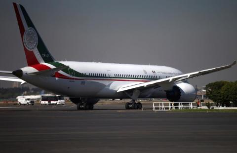 It's one of a handful of Boeing Dreamliners to be have been turned into private jets.