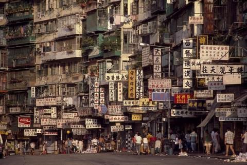 At its peak, more than 33,000 people lived in the 6.4-acre city. It was considered by many to be the most densely populated place on earth.