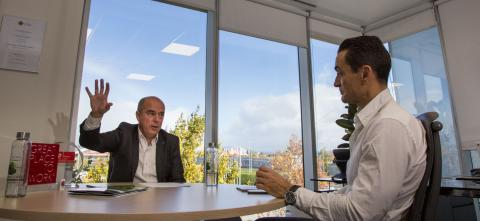 Jaime de Jaraíz entrevistado por Manuel del Campo, CEO de Axel Springer España