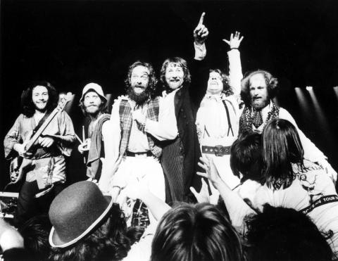 Jethro Tull en su época de máximo esplendor