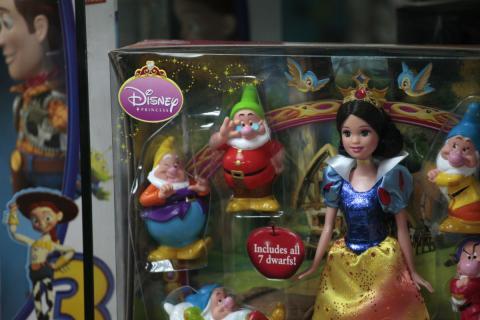Un juguete de Disney en una tienda