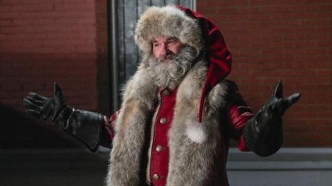 Kurt Russell como Santa Claus en 'Crónicas de Navidad'