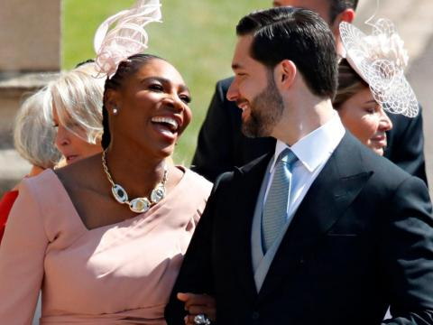 MAY: Reddit founder Alexis Ohanian was spotted at the wedding of Prince Harry and Meghan Markle. His wife, Serena Williams, is Markle's close friend.