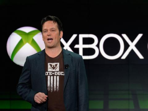 El vicepresidente ejecutivo de Microsoft, Phil Spencer. [RE]