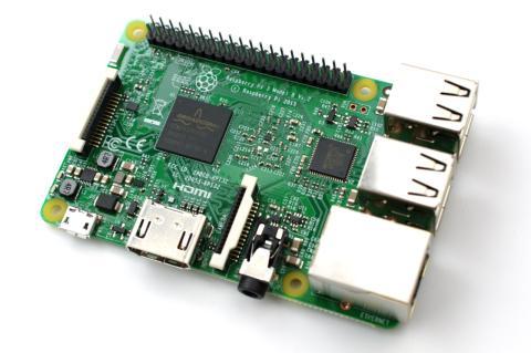 Un modelo de Raspberry Pi 3