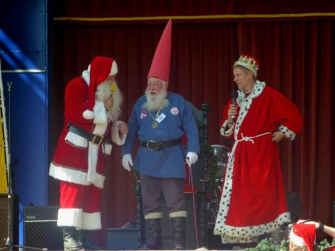 Julenissen as Norway representative at the World Santa Claus Congress.