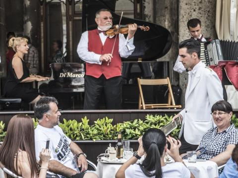 "Only 1% restaurants in the central San Marco area of Venice are owned and operated by locals, which has resulted in an overabundance of ""tourist trap"" restaurants, a spokesperson for a Venetian civil rights association told CNN."
