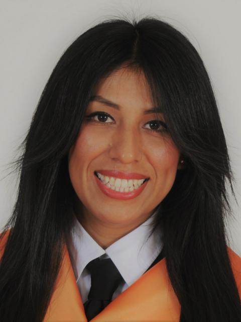 Paola Ramos, graduada en marketing en la Universidad Rey Juan Carlos