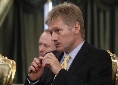 Russian President Vladimir Putin's spokesman Dmitry Peskov.