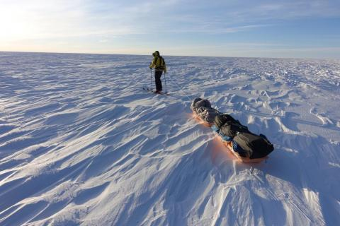 The Antarctic crossing is not O'Brady first world record. In 2016, he trekked to the top of the highest peaks on all seven continents, including Everest and the highest point in Antarctica, in just 132 days. That earned him a