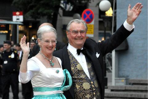 El Príncipe Enrique de Dinamarca y la Reina Margarita.