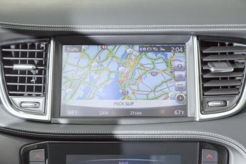 The QX50 is equipped with the twin-screen infotainment system found across the Infiniti lineup. It features an eight-inch upper touchscreen that's home to the navigation and the multi-view 360-degree camera system as well as ...