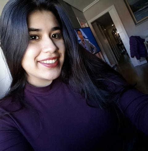 Rocío Campaña, estudiante de ingenería de servicios en la Universidad Rey Juan Carlos