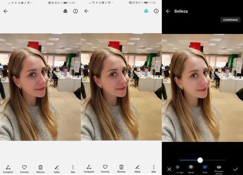 Selfie Huawei Mate 20 Pro