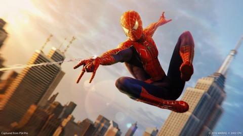 """Marvel's Spider-Man"" was demonstrated running on the next-generation PlayStation console."