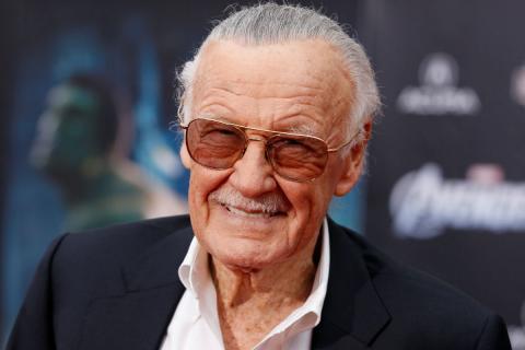 Stan Lee, durante la premiere de Los Vengadores, en 2012.