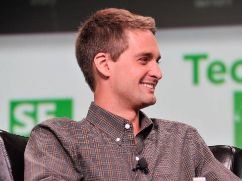 """There are very few people in the world who get to build a business like this. I think trading that for some short-term gain isn't very interesting."" — Evan Spiegel, CEO of Snap Inc., on not selling to Facebook"