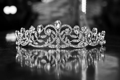 Una tiara de diamantes