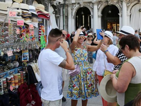 Tourism is a major part of the city's economy, but Venice has had trouble handling the sheer number of visitors.