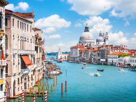 Venice, a city on Italy's northeastern coast, is one of the country's most popular destinations.