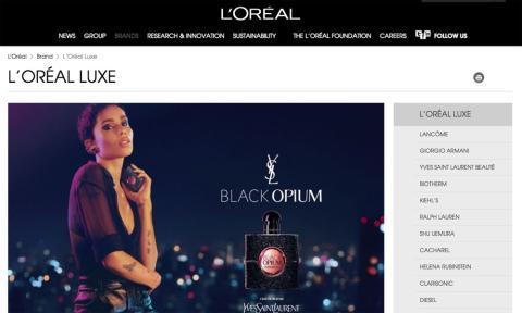 web L'oréal