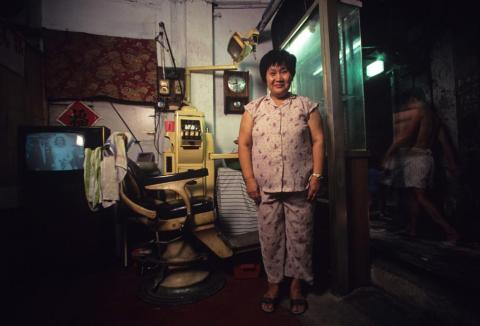 Wong Cheung Mi was one of the many dentists in the Walled City.