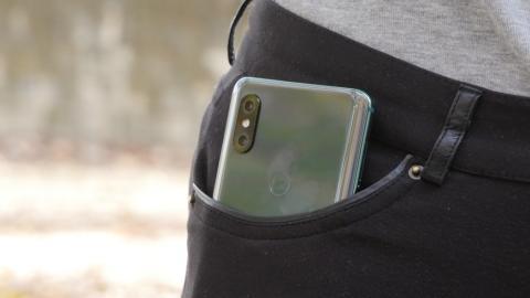 El Xiaomi Mi MIX 3.