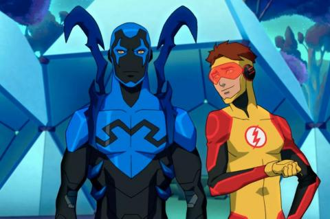 """1. """"Young Justice: Outsiders"""" (DC Universe)"""