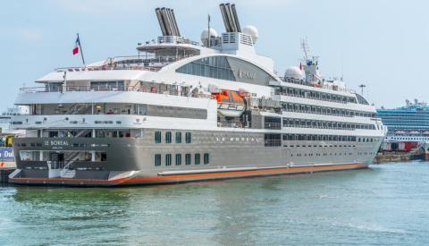 Le Boreal, otro de los barcos de Ponnant Cruise.