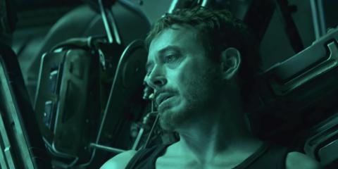 "Tony Stark looks like he doesn't feel too good in the first trailer for ""Avengers: Endgame."""