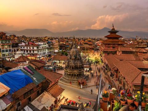 Katmandú, Nepal.
