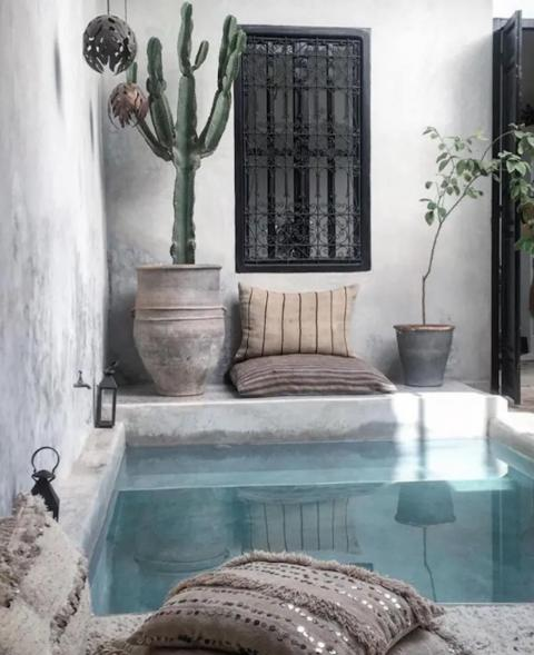 "5. Los viajeros que se dirigen a Marruecos querrán ver la casa de Airbnb ""Beautiful Riad Marrakech""."