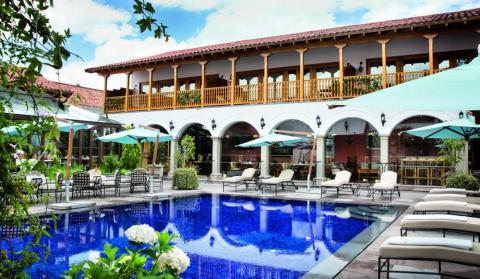 8. Belmond Palacio Nazarenas — Cusco, Peru