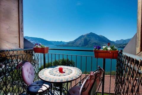 8. Esta casa en Perledo, Lago de Como, Italia, fue la octava más popular en la cuenta de Instagram de Airbnb.