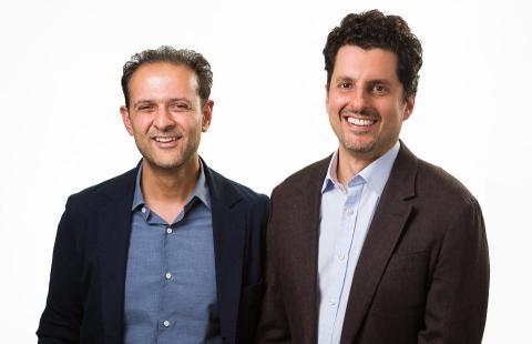 Rishi Khosla y Joel Perlman, fundadores de Oaknorth