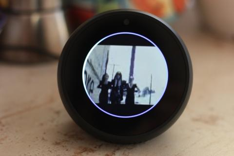 Amazon Echo Spot video