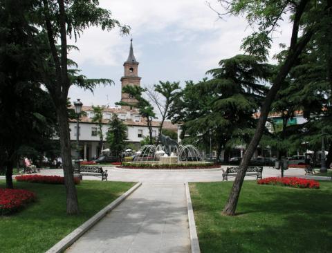 Plaza de los Hermanos Falcó y Álvarez de Toledo, Madrid