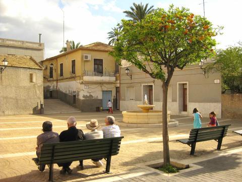 Barrio de Carrús, en Elche.