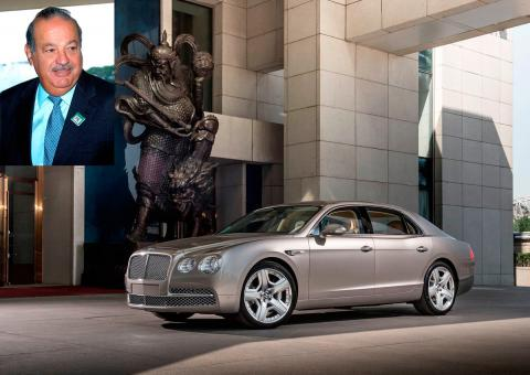 Coches de famosos: Bentley Flying Spur de Carlos Slim