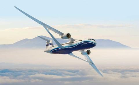 Avión TTBW de Boeing