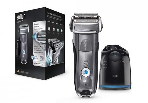 La mejor maquinilla de afeitar eléctrica de cuchilla laminada Braun Series 7 7865 cc