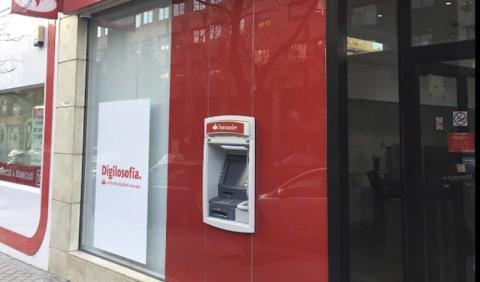 Cajero del Banco Santander