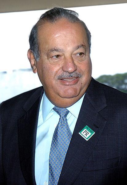 El inversor mexicano Carlos Slim