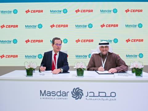 Firma acuerdo Cepsa Masdar