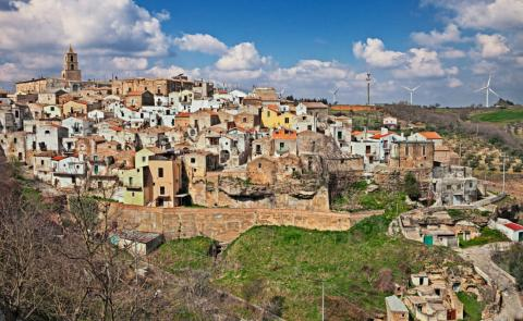 Una imagen del pueblo de Gottole (Italia).