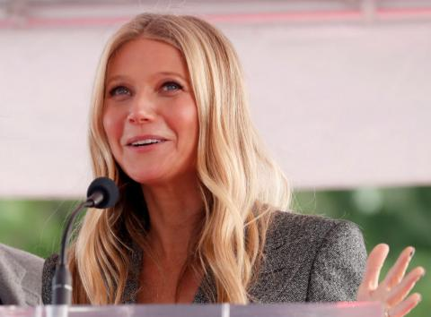 La actriz Gwyneth Paltrow, durante un evento.